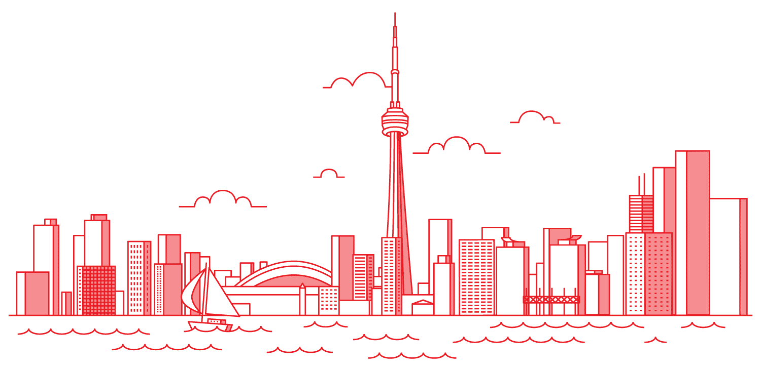 Toronto Skyline from the waterfront