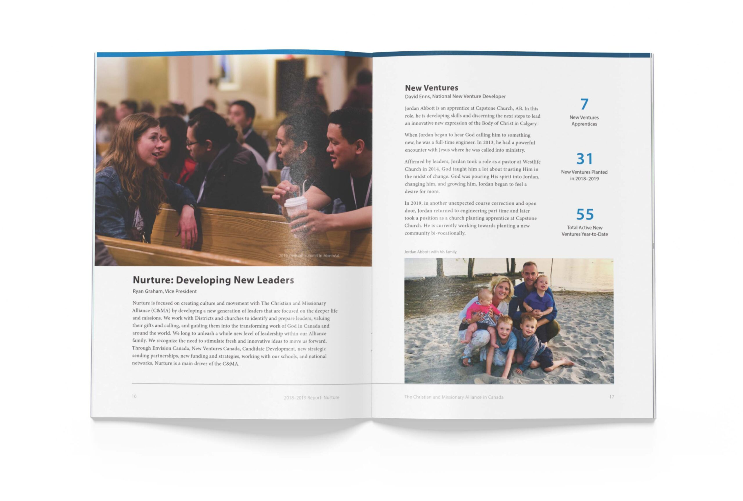 Page 16 of The Alliance Canada 2018-2019 Biannual Report