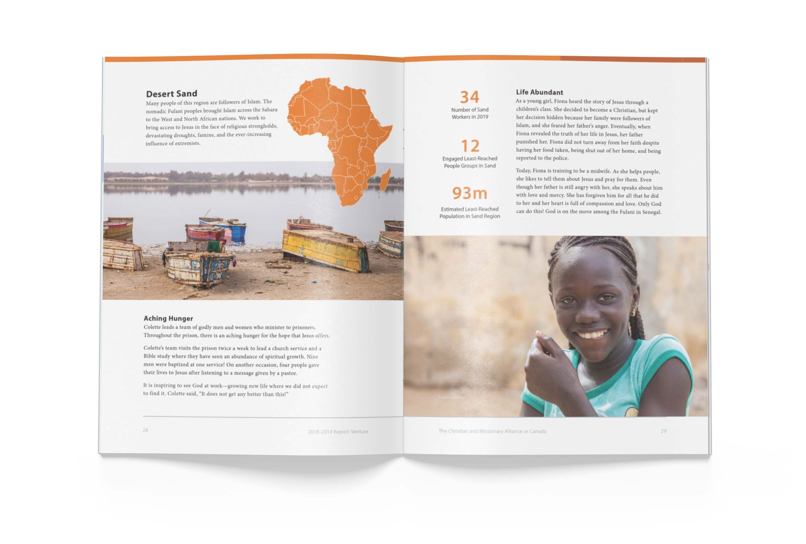 Page 28 of The Alliance Canada 2018-2019 Biannual Report