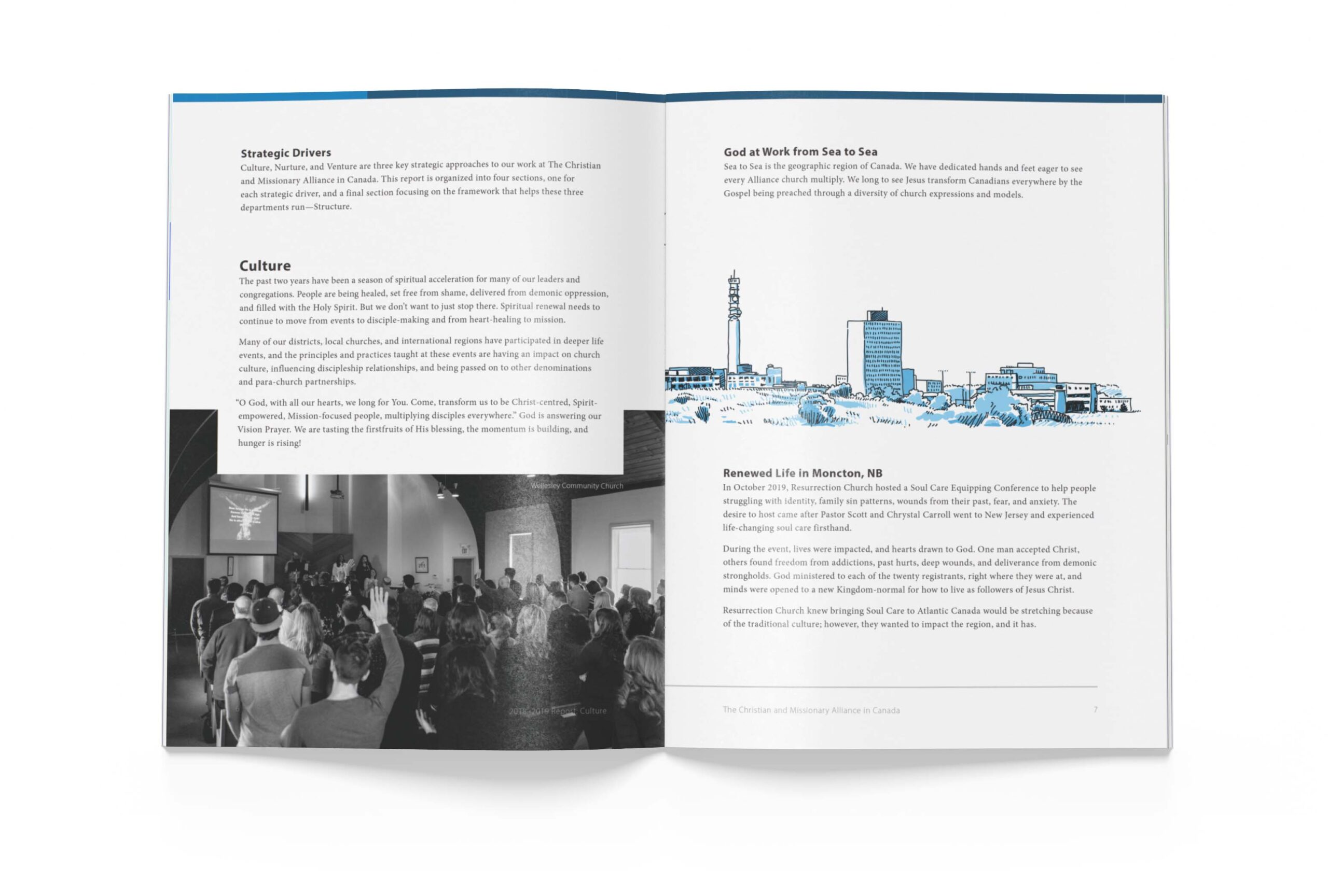 Page 6 of The Alliance Canada 2018-2019 Biannual Report