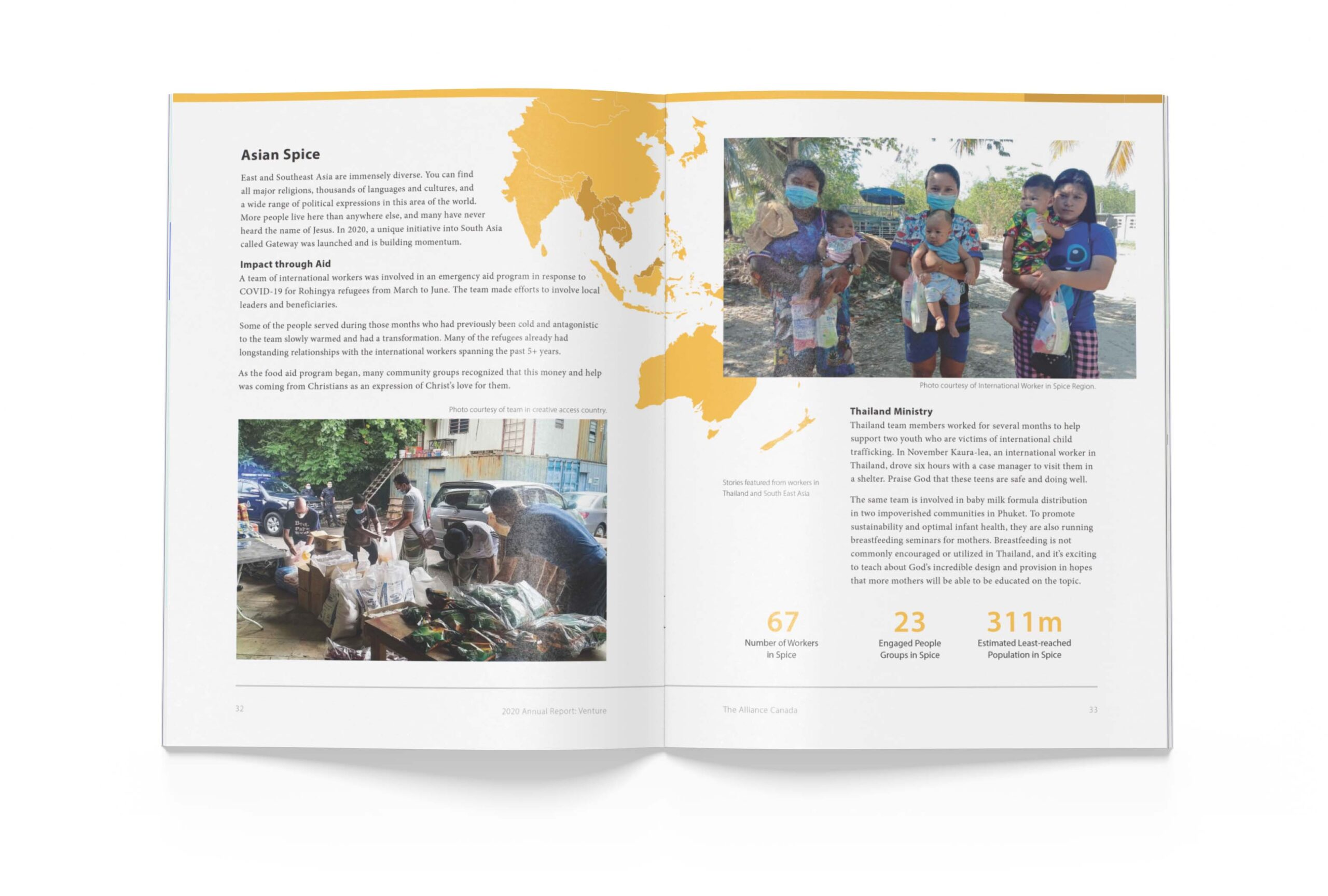 Page 32 of The Alliance Canada 2020 Annual Report