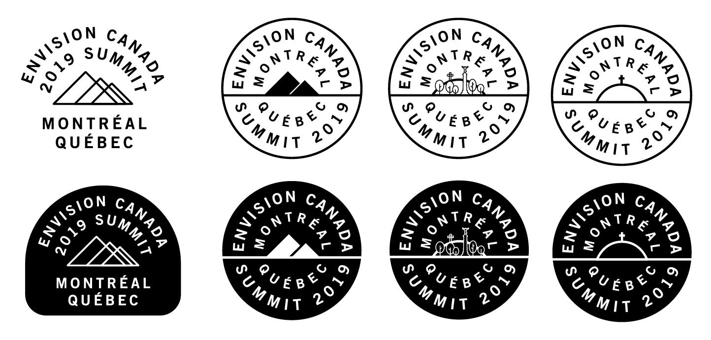 envision badge concept