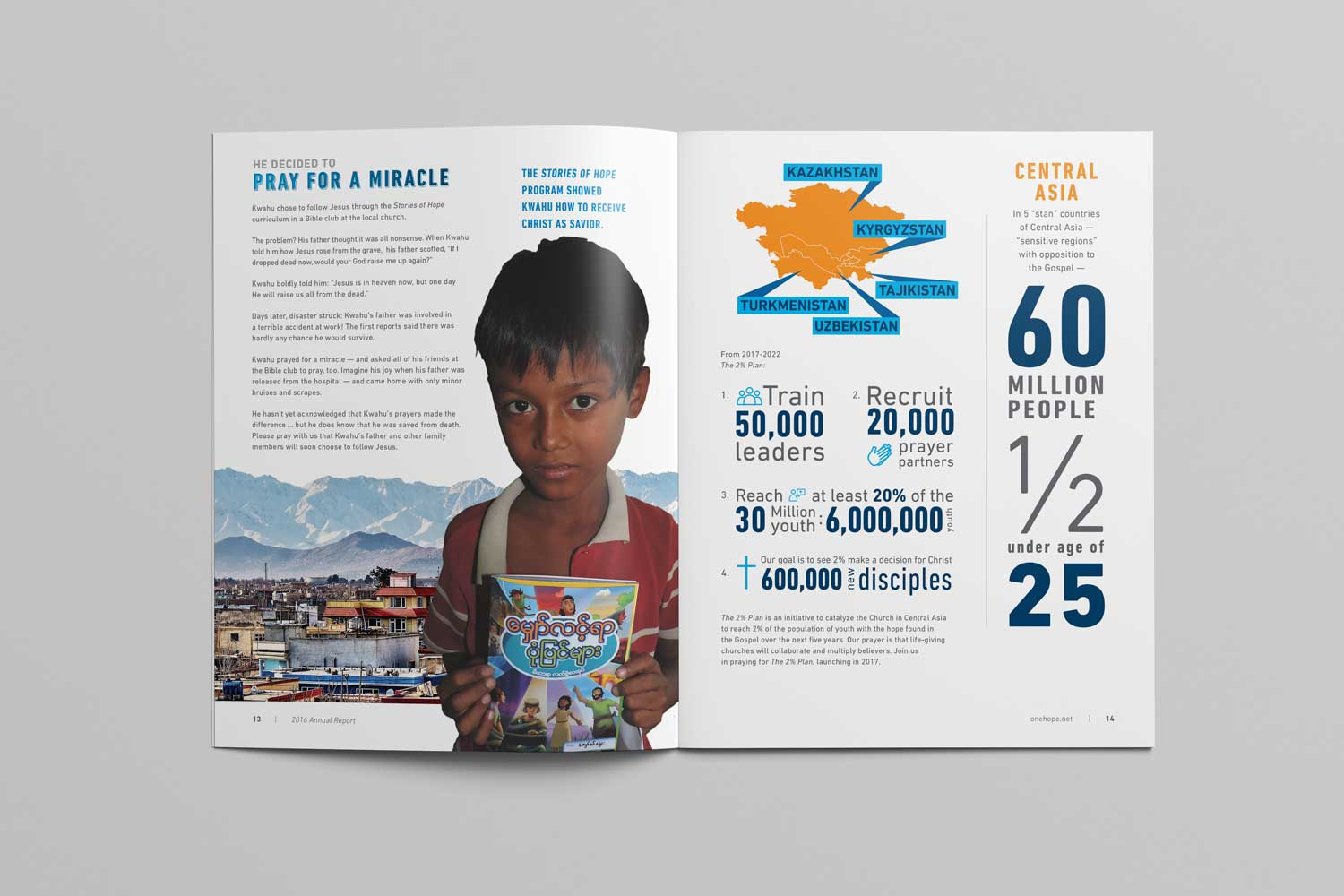 OneHope 2016 Annual Report page 13