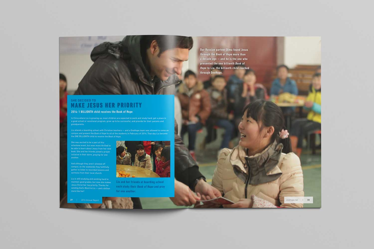 OneHope 2016 Annual Report page 29