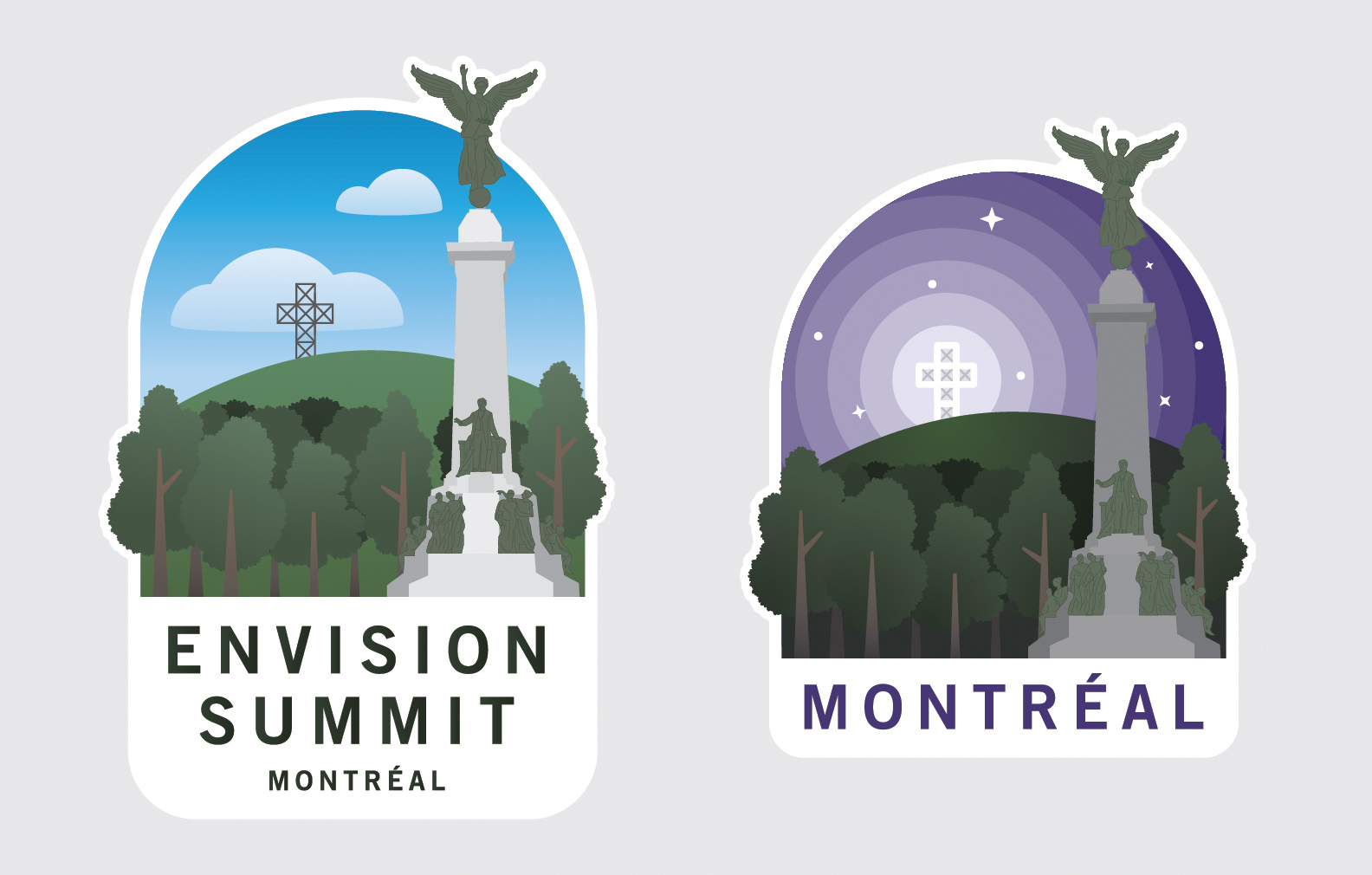 Envision Summit Badge of Mont Royal