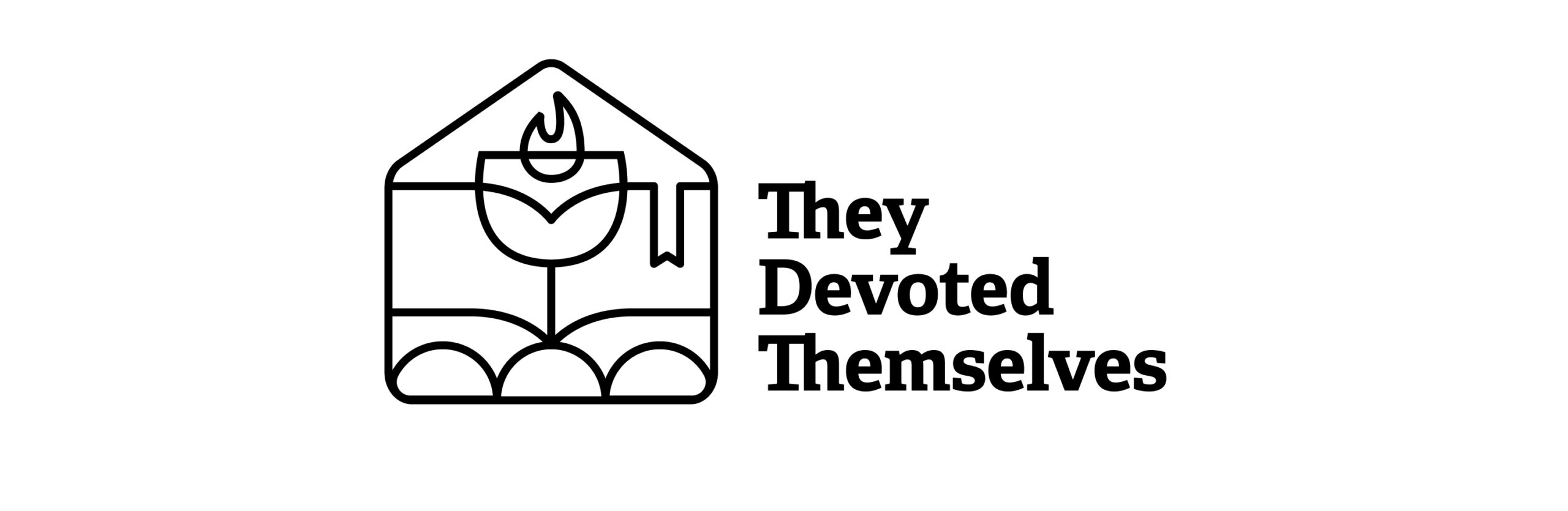 They Devoted Themselves Logo